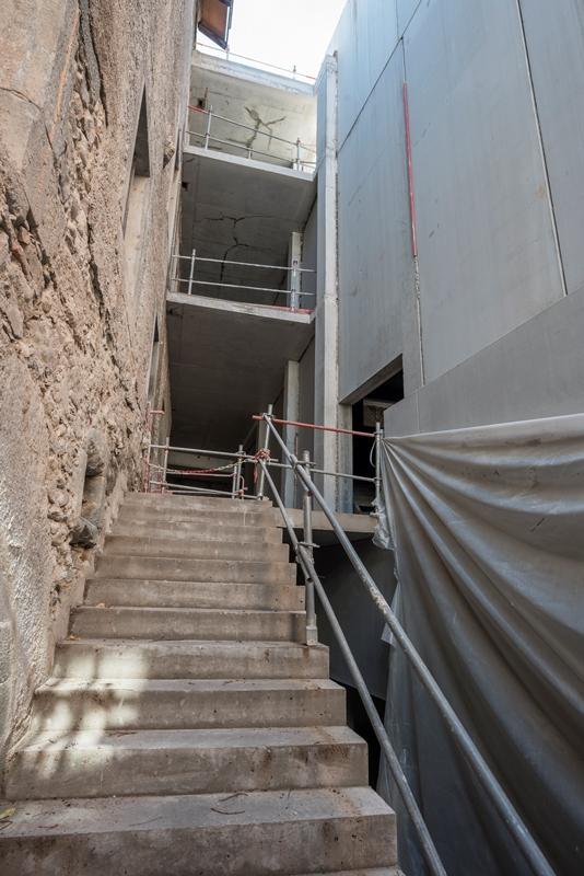 P le culturel de la visitation thonon les bains - Verriere externe ...